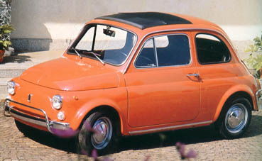 Fiat Nuova 500 Scheda 500 L