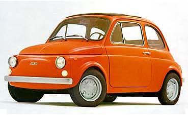 Fiat Nuova 500 Scheda 500 R