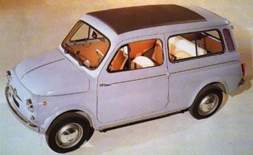 Fiat nuova 500 scheda 500 giardiniera for Immagini giardiniere