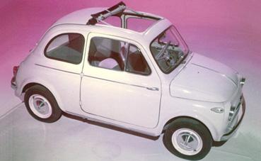 Fiat Nuova 500 Scheda 500 Tetto Apribile