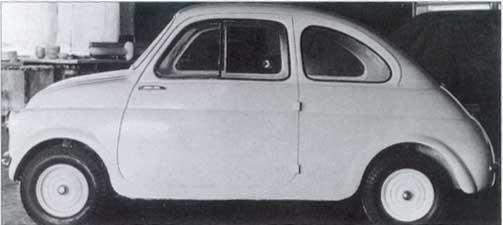 Fiat Nuova 500 Storia